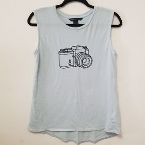 French Connection Camera Muscle Tee